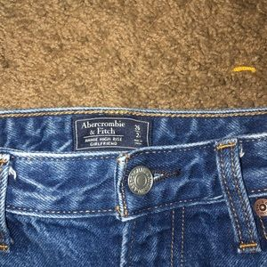 Abercrombie & Fitch Jeans - high waisted denim jeans
